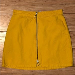 BDG Yellow Skirt